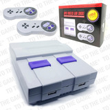 Nintendo Nes Snes Mini 500 Juegos 2 Joysticks Inalambricos