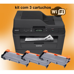 Multifuncional Brother Dcp 2540dw Wifi Duplex Toner P/ 6500
