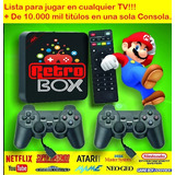 Retro Box Consola +10000 Mil Juegos,ps,nintendo,snes,family
