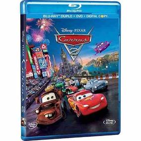 Carros 2 - Blu-ray Duplo + Dvd + Digital Copy - 4 Discos