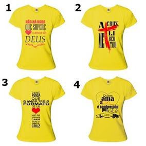 Kit Com 5 Camisa Baby Look Evangelicas Feminina Atacado · 4 cores. R  130 bae86c05b55d0