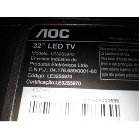 Kit Barra De Leds Aoc Le32s5970