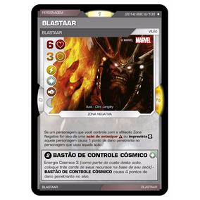 Card Blastaar Battle Scenes Invasão Cósmica N 8 Super Rara
