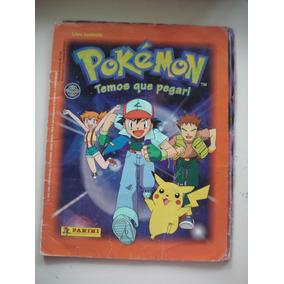 Livro Ilustrado/álbum Pokémon Faltam 11 Figurinhas