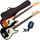 Bajo Electrico T/ Precision Jazzbass 4c + Funda + Afinador