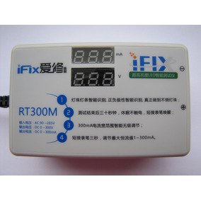 Rt300m 0-300ma Ultimate Led Lcd Tv Backligth Tester!!
