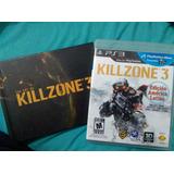Killzone 3 - Ps3 + Libro De Arte Oficial