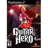 Juego Guitar Hero Playstation 2 Ibushak Gaming