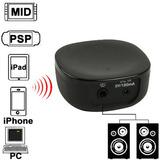 Receptor Mini Musica Bluetooth Para Iphone 4 4s 3gs Negro