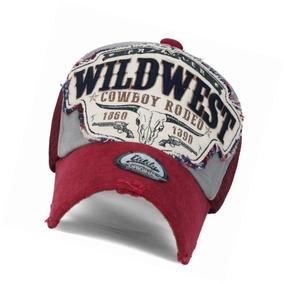 Gorra Ililily Wild West Patch Vintage - A Pedido exkarg 081e8cc8f2c