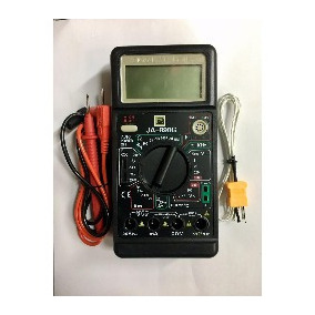 Tester Digital Profesional Ja890g C/pila Mide Capacacitores