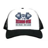 Bone Aba Curva Fitness Gym No Pain No Gain Pronta Entrega 04be33327fa