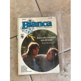 Livro De Romance Bianca Número 26 Em Cada Coração Um Desejo