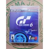 Gran Turismo 6 Ps3 Usado