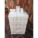 Cajetin 4 X 2 Pvc Plásticos Blancos 3/4 Y 1/2