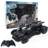 Carro Coleccionable Rc Batmobile