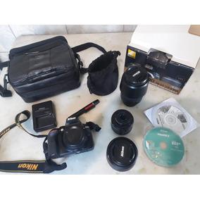 Nikon D5300 + Lentes