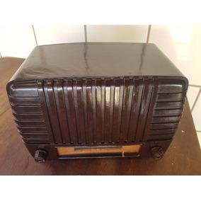 Radio Valvulado Em Baquelite Abc - Funcionando