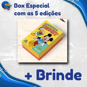 Box Especial 5 Novas Edições Lançamento Disney 2019 Nº 0
