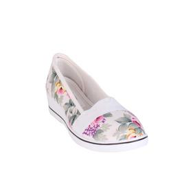 55d1cf0ded1 Zapatillas Tipo Ballerinas Blancas - Vestuario y Calzado en Mercado ...