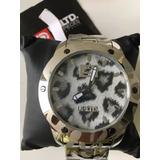 2a880714727 Relógio Marc Ecko E13542g1 Original Nota Fiscal Leia Anúncio