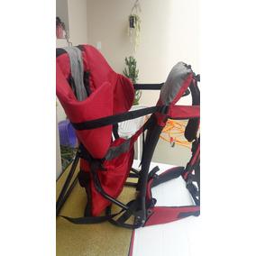 Transporte / Cadeira P/ Bebê Vermelho Vaude Trilha Passeio