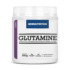 Aminoácido Glutamina 300g Totalmente Puro! Pronta Entrega!!