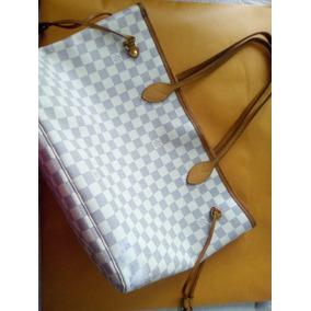 22dc588a5 Louis Vuitton Bolso Clon Neverfull - Bolsas Louis Vuitton Blanco en  Cuauhtémoc en Mercado Libre México