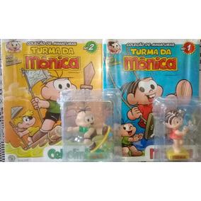 Lote Miniatura Turma Da Mônica - Monica/cebolinha