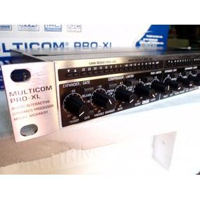 Compresor / Limitador De Audio Behringer Mdx 4600