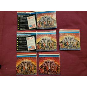 Lote 5 Catálogos Encartes G.i. Joe 1985