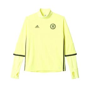 2016-2017 Chelsea adidas Entrenamiento Superior ( Amarillo ) 887feaee6d562