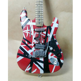 Guitarra Miniatur Escala Coleccion Regalo Artesanal Original