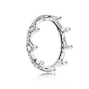 Pandora 100% Original Anillo Corona Enchanted Crown