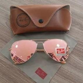 3946b529f092f Oculos Rayban Erika Velvet Espelhado Rosa - Óculos no Mercado Livre ...