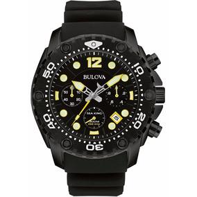 Reloj Bulova Sea King 98b243 Cronógrafo Acero Inoxidable