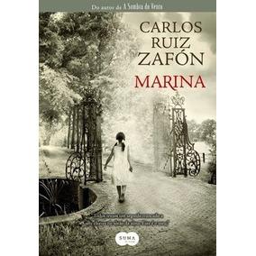 Marina - Carlos Ruiz Zafón - Livro Novo