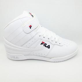 Tenis Fila F-13 5vf80162-147 White Blanco