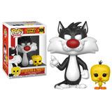 Funko Pop Sylvester & Tweety 309 Looney Tunes En Caja Nuevo