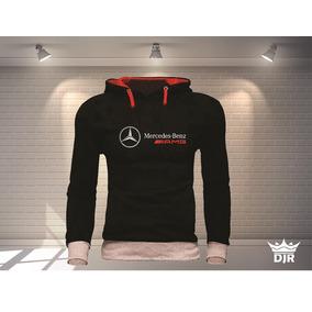 d90f7006c4 Blusa Moletom Mercedes Personalizada