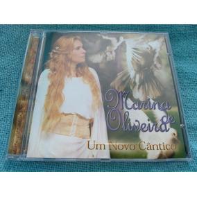 Cd Marina Oliveira Novo Cântico 1 Edição 2002 Raro Pouco Uso