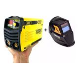 Tork Maquina Solda Mini Inversora 180a 220v Kab180 + Mascara