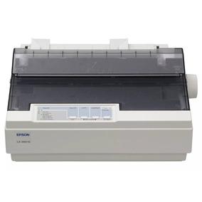01 Impressora Mat Epson Lx-300+fita+cabo Usb Novo E C/tampa.