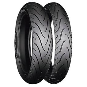 Par Pneu 80/90-17 +110/80-14 Pilot Street Michelin Biz/pop