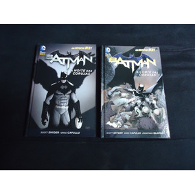 Batman: Corte E Noite Das Corujas (kit) Novos 52 - Capa Dura