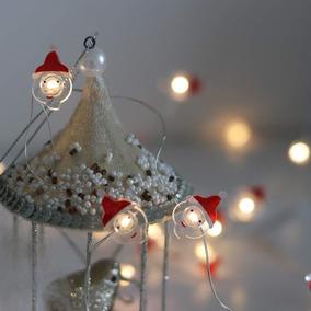 65402f8bf112f Arbol Navidad Con Nieve Artificial Con Luces en Mercado Libre México