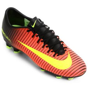 847b1ad04f Chuteira Nike Mercurial Vermelha - Chuteiras Nike de Campo para ...
