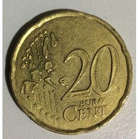 Moeda Da Franca 20 Cent De Euro 1999 Rara