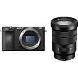 Câmera Sony Alpha A6500 Kit Com Lente 18-105mm