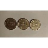 Monedas De 20 Bs Del Año 2000